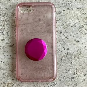 Pre-owned: Speck iPhone 7 case pink!
